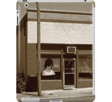 Burlington, North Carolina - Small Town Business iPad Case/Skin