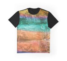 Colorful Wall Graphic T-Shirt