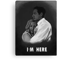 I'm Here Canvas Print