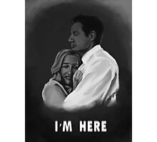 I'm Here Photographic Print