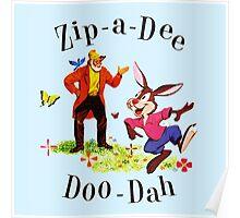 "Uncle Remus and Brer Rabbit ""Zip-A-Dee Doo-Dah"" Shirt Poster"