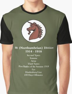 50th (Northumbrian Division. Graphic T-Shirt