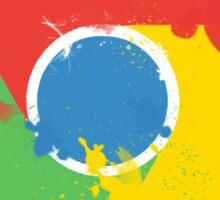 Splatter Google Chrome Sticker