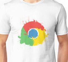 Splatter Google Chrome Unisex T-Shirt