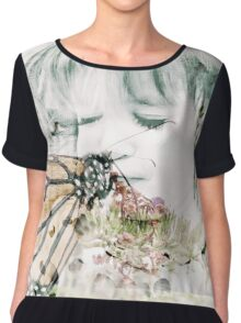 Butterfly Kisses Chiffon Top
