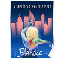 Blanche - NYC Poster