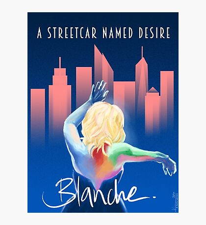 Blanche - NYC Photographic Print