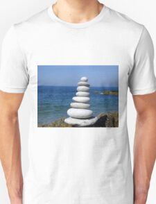 Zen Stone Tower Unisex T-Shirt