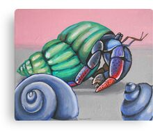 Billy the Hermit Crab Canvas Print