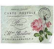 Petite Rose Confection Poster