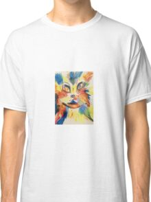 Pandora Fox Art Acid Bunny Cat  Classic T-Shirt