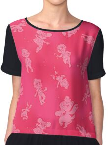 Mini Bears - Scatter Shot! (Pink) Chiffon Top