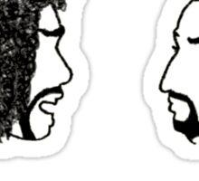 Jefferson Hamilton Cabinet Battle Sticker