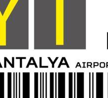 Destination Antalya Airport Sticker