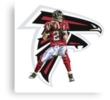 Matt Ryan Falcons Canvas Print