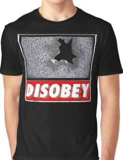 Disobey TV Graphic T-Shirt