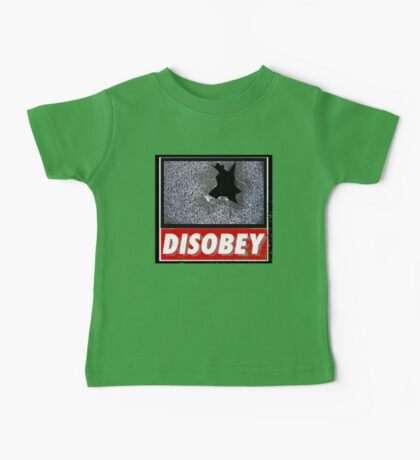 Disobey TV Baby Tee
