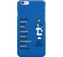 Greece 2004 Euro Winners iPhone Case/Skin