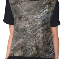 Uniquely Formed Chiffon Top