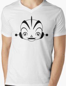 Space Robot (black & white head)  Mens V-Neck T-Shirt