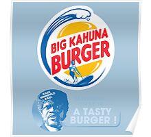 Pulp Fiction - Big Kahuna Burger Poster
