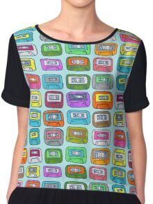 Collecting tapes in the 90s Chiffon Top