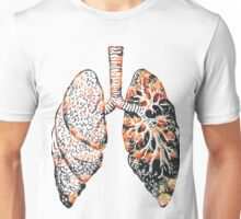 Lungs - Flowers  Unisex T-Shirt