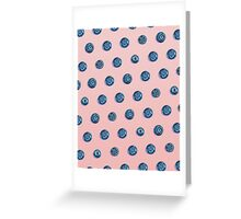 BLUE BERRY Greeting Card