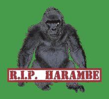 Harambe RIP Harambe the Gorilla One Piece - Short Sleeve