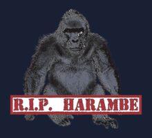 Harambe RIP Harambe the Gorilla Kids Tee