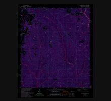 USGS TOPO Map Alabama AL Dogwood Creek 303683 1978 24000 Inverted Unisex T-Shirt