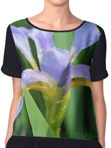 Water Iris Chiffon Top