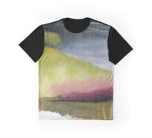 Stormy hillside Graphic T-Shirt
