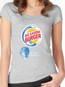 Pulp Fiction - Big Kahuna Burger Women's Fitted Scoop T-Shirt