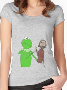 Henson and Kermit Women's Fitted Scoop T-Shirt