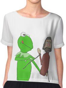 Henson and Kermit Chiffon Top