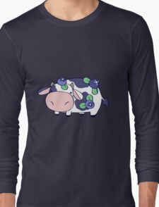 Blueberry Cow Long Sleeve T-Shirt
