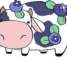 Blueberry Cow by SaradaBoru