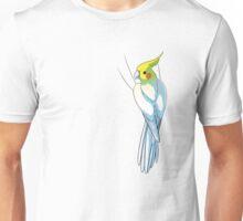 Lutino Cockatiel Unisex T-Shirt