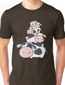 Cow Stack Unisex T-Shirt