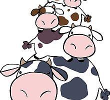 Cow Stack by SaradaBoru
