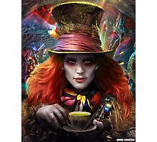 Hatter from Wonderland Photographic Print