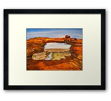 Natures Window - Kalbarri National Park, Australia Framed Print