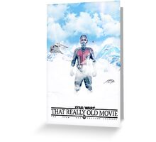 THAT REALLY OLD MOVIE : Civil War Greeting Card