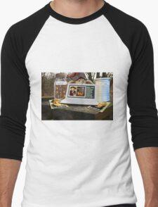 Deep Woods Informant on Oven Homicide Men's Baseball ¾ T-Shirt