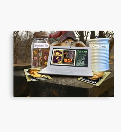 Deep Woods Informant on Oven Homicide Canvas Print