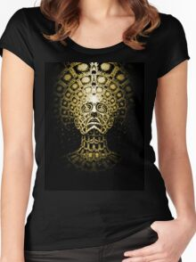 Alex Grey Colourfull 4 Women's Fitted Scoop T-Shirt