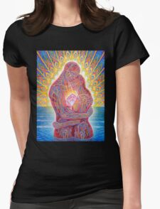 Alex Grey Colourfull 7 Womens Fitted T-Shirt