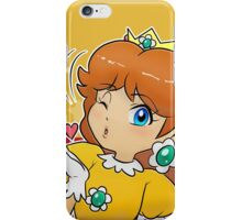Princess Daisy - Blow Kiss iPhone Case/Skin