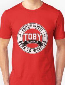 Toby Clements 'British Is Best' Artwork #4 Unisex T-Shirt